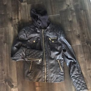 Si Sono faux leather jacket